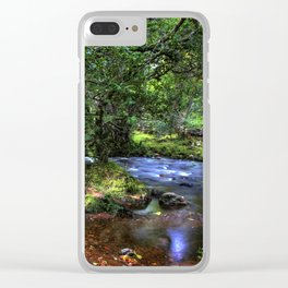 Quietly Flows The River Dart Clear iPhone Case