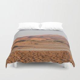 Desert textures - Sossusvlei desert, Namibia Duvet Cover