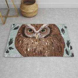 Painted Owl Rug