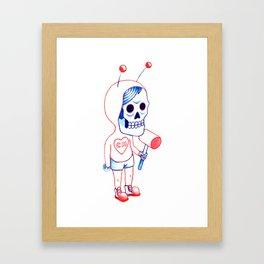 Chapulin Colorado Framed Art Print