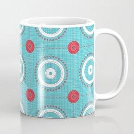 Pins and Buttons Coffee Mug