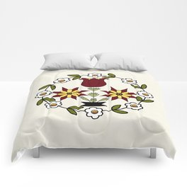 Dutch Country Floral Comforters