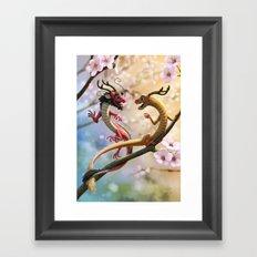 Hu & Tong Framed Art Print