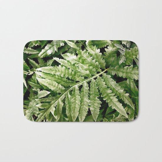 Lush Ferns Bath Mat