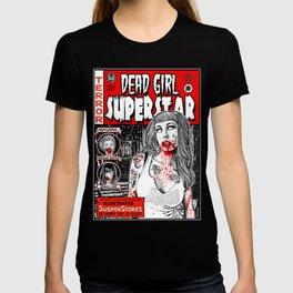 "DEAD GIRL SUPERSTAR ""RETRO COMIC COVER"" T-shirt"