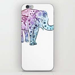 Beautiful Elephany Gift Elephant Love iPhone Skin
