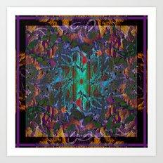 Textured pt1 Art Print