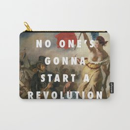 settle for a revolution Carry-All Pouch