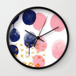 Melting Pot 2 Wall Clock