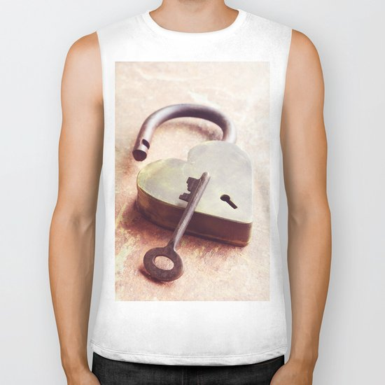 Key to My Heart Biker Tank