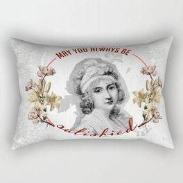 satisfied Rectangular Pillow