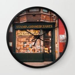 Stamp Shop in Gent Wall Clock
