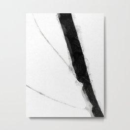 Minimal Monochrome D1 Metal Print
