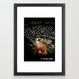 The Furnace Room Framed Art Print