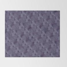 Quarian Swirls Throw Blanket