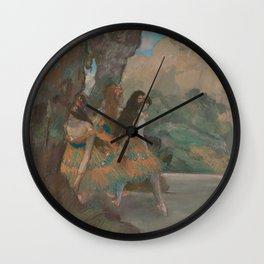 Edgar Degas - Ballet Dancers Wall Clock