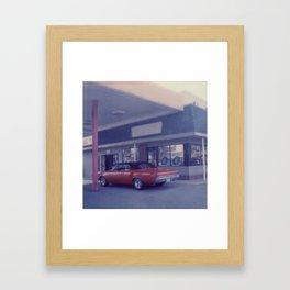 Wheel Alignment Framed Art Print