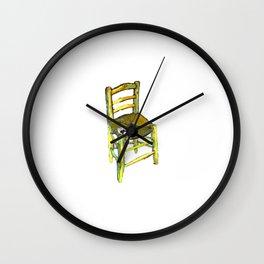 One Chair - Van Gogh Wall Clock