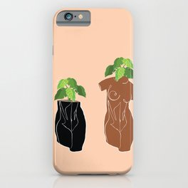Planters in the Nude iPhone Case
