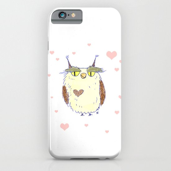 Owl Heart iPhone & iPod Case
