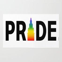 Cleveland LGBTQ Pride Terminal Tower Rug