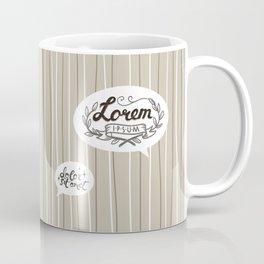 Designer SmallTalk Coffee Mug