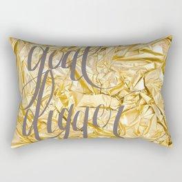 GOAL DIGGER Rectangular Pillow