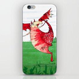 Welsh Dragon iPhone Skin
