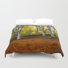 Autumn Trees Woodland Duvet Cover