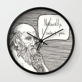 Naturally, I select you Wall Clock