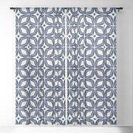 Starburst - Navy Sheer Curtain
