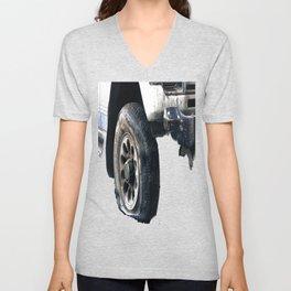 Flat Tire! Unisex V-Neck