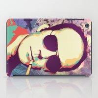 hunter s thompson iPad Cases featuring Hunter S. Thompson by victorygarlic - Niki