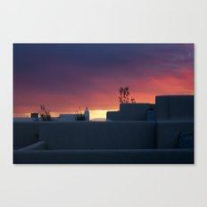 NM Sunset 1 Canvas Print