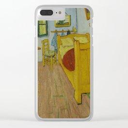 Van Gogh Bedroom in Arles Clear iPhone Case