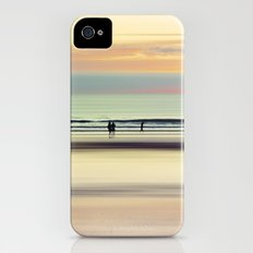 an evening at the beach iPhone (4, 4s) Slim Case