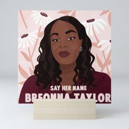 say her name Mini Art Print