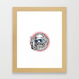Karl Marx Communist Party shirt Socialist Marxism Framed Art Print