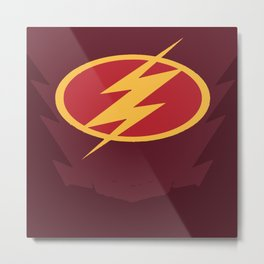 The Flash Logo Metal Print