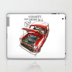 Mini Cooper Classic in Red Laptop & iPad Skin