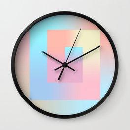 The Gradient II Wall Clock