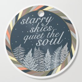 Starry Skies Quiet The Soul Cutting Board