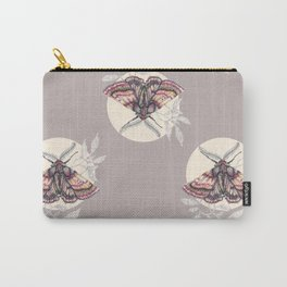 moth pattern Carry-All Pouch