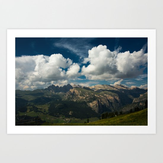 Val Gardena - Landscape from Ciampinoi by vincos
