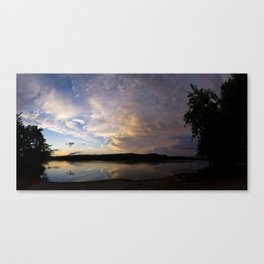 Passing Weather Canvas Print