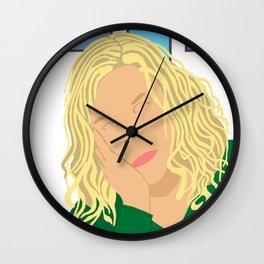 Pensive Dread Wall Clock