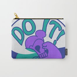 Do It! Purple Carry-All Pouch