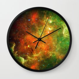 An Extended Stellar Family - North American Nebula Wall Clock