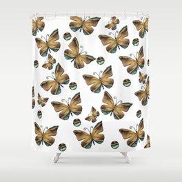 Envolée de papillons Shower Curtain