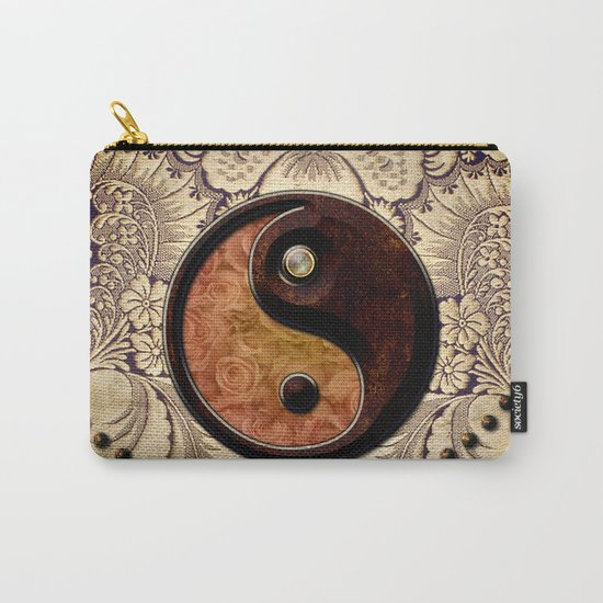 The sign ying and yang  Carry-All Pouch